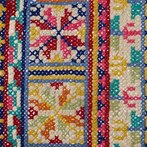 cross stitch rug pattern folk cross stitch rug rugs folk and crosses