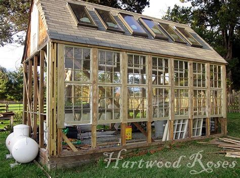 Greenhouse From Salvaged Windows Decor Amazing Greenhouse Idea Made From Windows And Doors Thinking You Could Take This Idea And Use