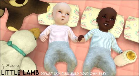 sims 4 cc baby funtioneri little lamb skin diy baby at martine s simblr 187 sims 4