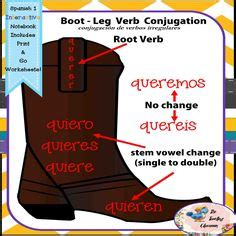 boat in spanish spelling fun practice for those e to ie stem changing spanish verbs