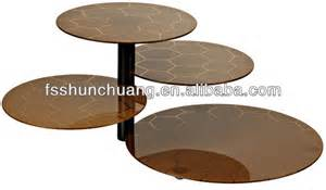 stainless steel buffet stand food stand display food stand cake stand with glass view cake