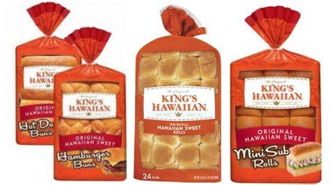 kings hawaiian rolls  bread coupon deals  walmart target moreliving rich