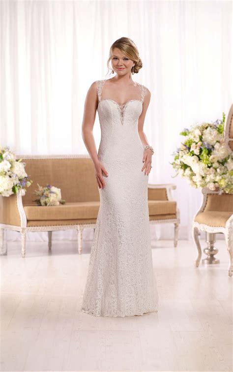 All Wedding Dresses by All Lace Illusion Back Wedding Dress I Essense Of Australia