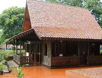 rumah adat betawi gambar rumah tradisional suku betawi