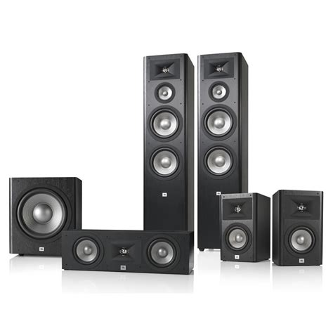 jbl studio 290 51 home theater speaker system package bla