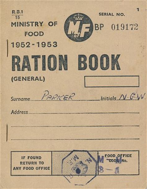 rationing book template rationing coupons colouring pages