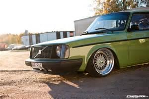Slammed Volvo They Get Better With Age Patrik Lindgren S Volvo 242