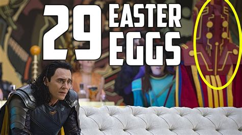 thor film easter eggs thor ragnarok every easter egg doovi