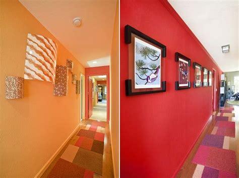 flur gestalten rot flur gestaltung wohnideen design rote orange w 228 nde