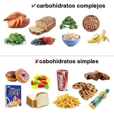 carbohidratos simples  complejos carbohidratosnet