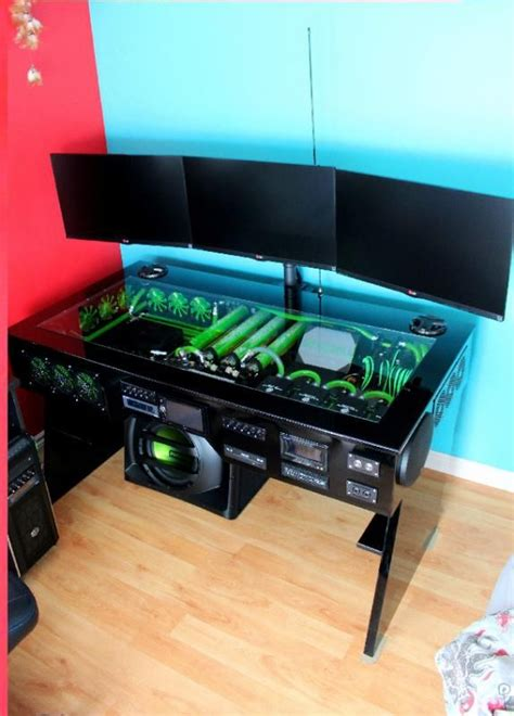 Building A Gaming Desk 25 Best Ideas About Pc Desks On Gaming Desk Cool Computer Desks And Build My Pc
