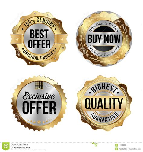 Obeng 9 Set Original Krisbow High Quality Gold And Silver Badges Set Of Four Best Offer Buy Now