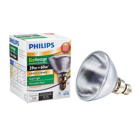 Lu Philips 60 Watt philips 60 watt equivalent halogen par38 dimmable