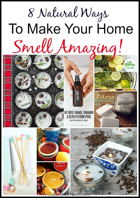 How To Make House Smell by 8 Ways To Make Your Home Smell Amazing