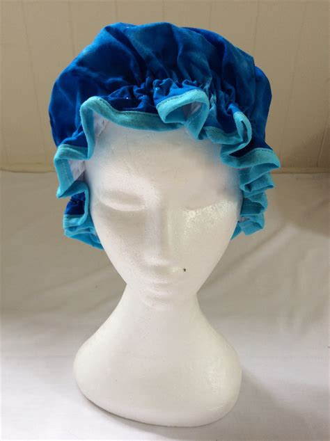 Shower Hats For Adults by Shower Cap Adults Blue Tie Dye Viveenas Madeit Au