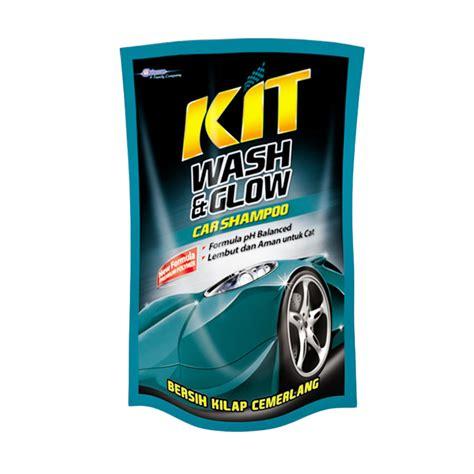 jual kit wash glow car shoo 400 ml pouch