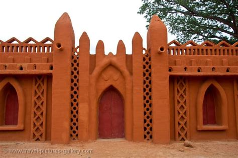 Modern Buildings pictures of mali segou 0038 adobe architecture