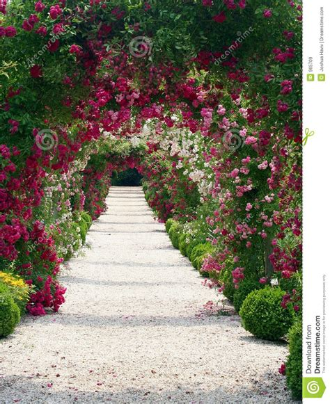 Garden Of Pictures Garden Landscape Royalty Free Stock Images Image