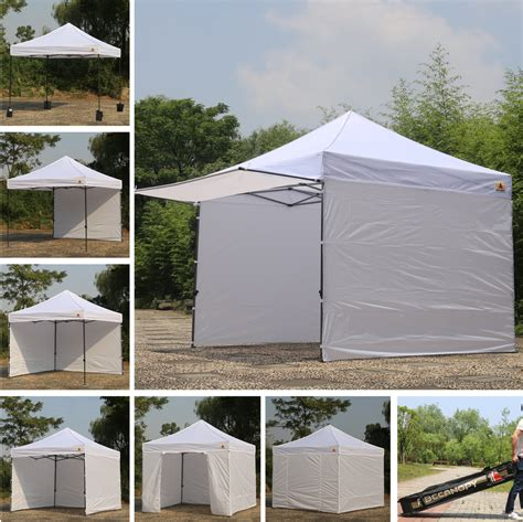pop up tent awning 10x10 abccanopy easy pop up canopy tent instant shelter