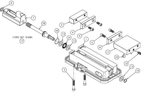 D Series Vise Replacement Parts