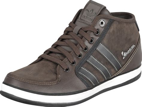 adidas vespa px mid shoes must brown black