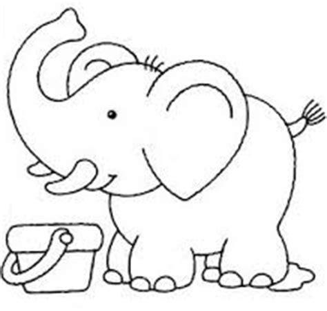 imágenes de elefantes fáciles para dibujar dibujos f 225 ciles de elefantes para pintar colorear im 225 genes