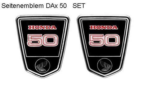 Aufkleber Honda Dax by Dax Emblem St 50 Set Gel Honda Monkey Dax Kepspeed
