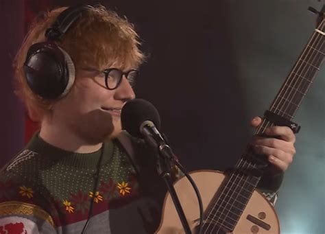 ed sheeran xmas song people aren t impressed with ed sheeran s fairytale of new