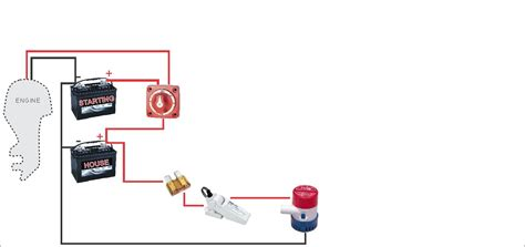 battery switch wiring diagram boat battery switch wiring