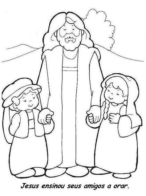 coloring pages jesus is our friend jesus meu amigo fiel