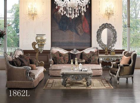 Living Room Furniture Traditional Style Luxurious Traditional Style Formal Living Room Set Hd 1862l