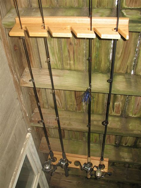 fishing rod holder  echofive  lumberjockscom