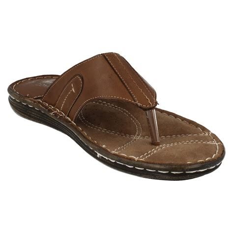 comfit slippers mens bata comfit toe post sandals 861 4601 ebay