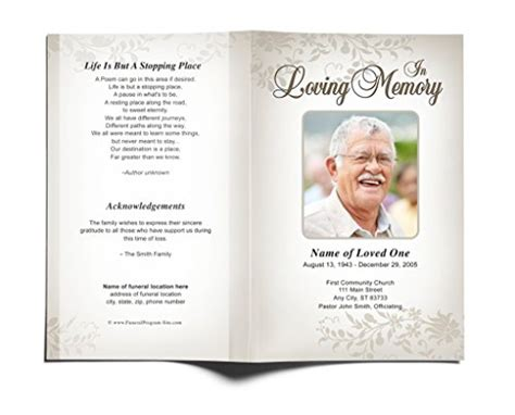 top 5 best funeral programs for sale 2017 product md