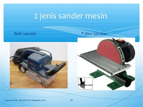 Mesin Las Sander f2 kh 1 rekabentuk
