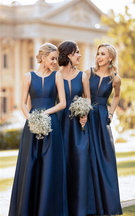classic  simple bridesmaid dress sorella vita