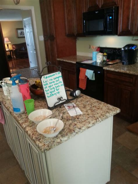 Countertops Knoxville Tn by Giallo Napoli Granite Kitchen Countertop Install For The