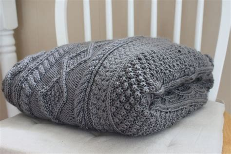 grey cable knit throw blanket cable knit throw grey crochet and knit