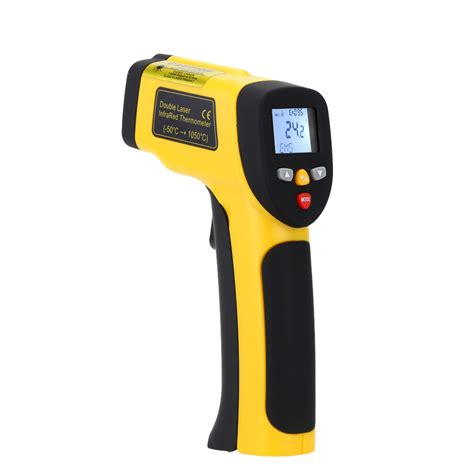 Thermometer Infrared Digital Non Contact Diskon precision digital infrared thermometer laser non
