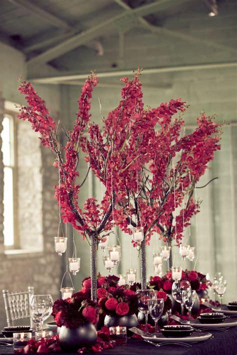 Tischdeko Hochzeit Romantisch by Herbst Tischdeko Mit Blumen 20 Romantische Hochzeit Ideen