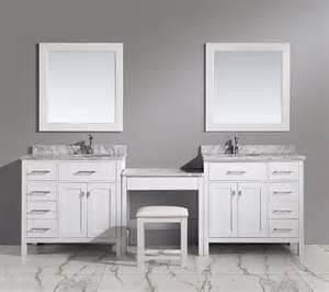 Sink Vanity With Makeup Station Bathroom Makeup Vanity Building A Makeup Station From