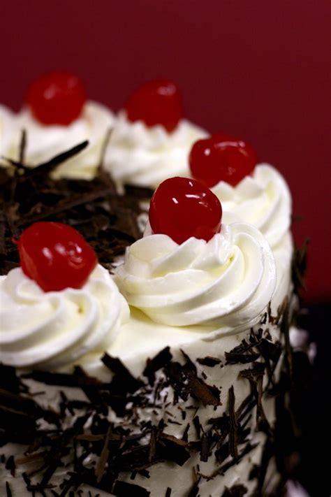 black forest cherry cake deserts pinterest