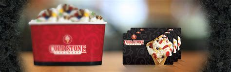 Cold Stone Gift Card Balance - cold stone creamery gift cards