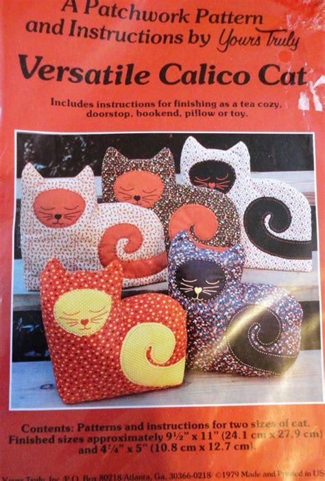 Sarung Bantal Jumbo Size Calico 2 Pcs calico cat stuffed animal sewing pattern size large and small