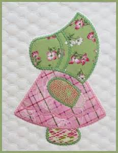 sunbonnet sue quilt in the hoop embroide by marjorie busby