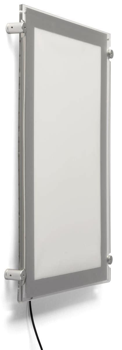 Poster Sunnah Poster Panel Poster Frame Borderless 11 illuminated wall mount poster display silver border 11x17