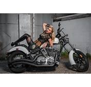 Model Jacqueline Biker Babe Fashion Show Asheville Nort