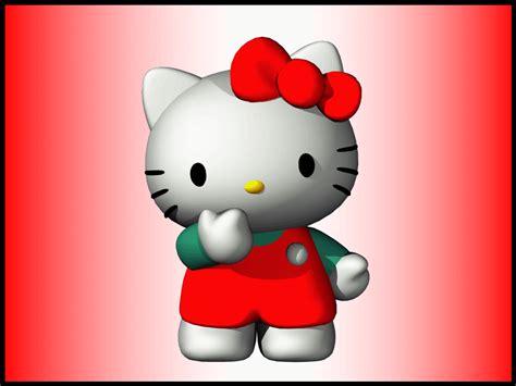 imagenes de kitty en 3d hello kitty