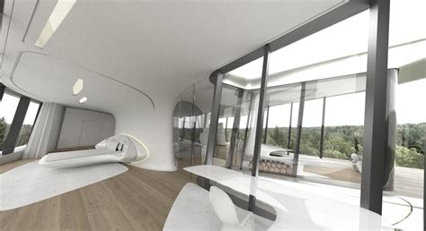 Interior Home Spaces space age bedroom design interior design ideas
