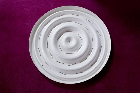 white large ceiling plate the verner panton collector